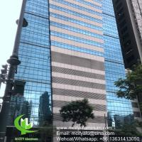 China Metal aluminum panel curtain wall aluminum solid panel facade cladding for facade covering on sale