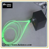 Wholesale solid side glow optic fiber lighting system with LED light emitter from china suppliers