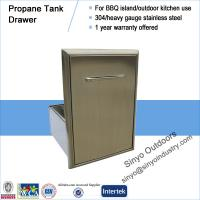 Wholesale Roll-Out Propane Tank Storage Bin For Barbecue Island from china suppliers