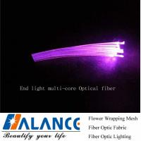 Buy cheap Halance End Light Multi-core Optical Fiber(MEOF-50*0.75mm) from wholesalers