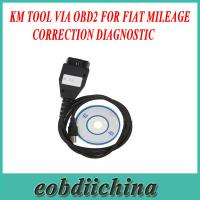 Wholesale KM TOOL VIA OBD2 For FIAT Mileage Correction Diagnostic with Good quality from china suppliers