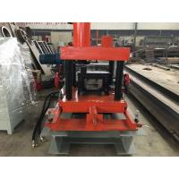 Wholesale PLC Control C Purlin Roll Forming Machine / Z Section Stud Roll Forming Machine from china suppliers