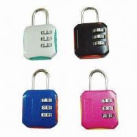Wholesale 4-digit Combination Padlocks, Measures 81x43x21mm from china suppliers