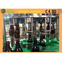 Wholesale Electric Glass Bottle Filling Machine / Carbonated Drink Production Line from china suppliers