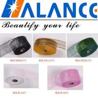 """Wholesale 2 1/2"""" Ribbon Ploy Deco Mesh For Decorative Flowers from china suppliers"""