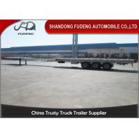 Wholesale Telescopic Wind Blade Transport 40 Foot Semi Trailer 50 Ton Can Extend from china suppliers