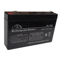 Wholesale Sealed Rechargeable 6V Lead Acid Battery Long Service Life Free Maintenance from china suppliers