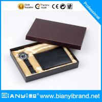 Wholesale Gift set wrist watch and wallet from china suppliers
