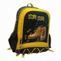 China Trolley School Boys' Pack Bag, Ankle Boot Design, 300D Polyester Material, Nylon Zipper Compartments  on sale