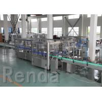 Buy cheap Beverage Washing Filling Capping Machines , PET Glass Bottle Liquid Filling Machines from Wholesalers