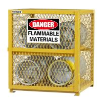 Wholesale Explosion Proof Chemical Storage Cabinets With Adjustable Shelf For Gas Cylinders cage from china suppliers