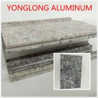 Wholesale Marble Texture Aluminium Kitchen Profile Annealing Treatment T1 T4 T5 from china suppliers