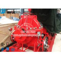 China NFPA 20 Standard Fire Fighting Water Pump , Electric Motor Driver Horizontal Split Case Fire Pump on sale