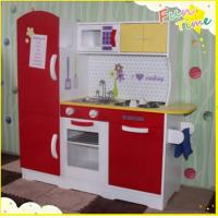 2015 wooden kitchen set for kids children kitchen play for Kids kitchen set sale