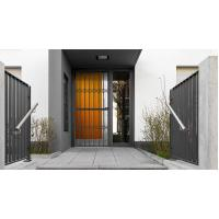 Buy cheap 6063 - T5 Aluminum Framed Decorative Security Doors Powder Coating from wholesalers
