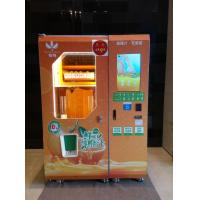 100% Freshly Squeezed Orange Juice from a Vending Machine