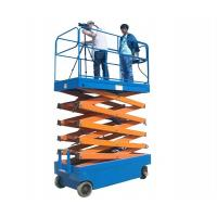 Mobile Hydraulic Lifts : M electric steel lifting mobile hydraulic scissor
