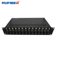 Wholesale Iron Shell 19 Inch Rack Mount Chassis , 14 Slots 2u Rackmount Server Case from china suppliers