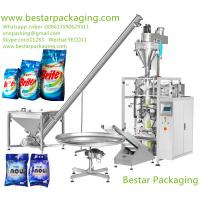 China washing powder pouch sealing machines , washing powder filling machines  supplier on sale