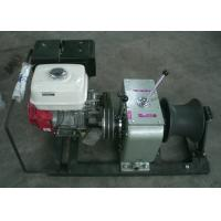 Buy cheap Cable Winch Puller For 5 Ton Petrol Engine Powered Fast Speed Winch from Wholesalers