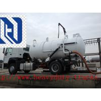 Wholesale 18CBM 336hp Vacuum Suction Sewer Cleaning Truck 6x4 Desiel Fuel Type from china suppliers