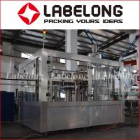 Wholesale Automatic Bottle Filling And Capping Machine , PLC Control Beverage Bottling Machine from china suppliers