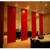 Wholesale Movable Door Rollers Banquet Hall Acoustic Partition Wall Panel Thickness 65mm OEM / ODM from china suppliers