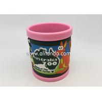 China 2019 new creative promotional gifts supply and custom with pvc silicone wrap 3d anime mugs on sale