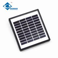 Buy cheap 2W 10V Glass Laminated Solar Panel for lithium battery solar storage ZW-2W-10V from wholesalers