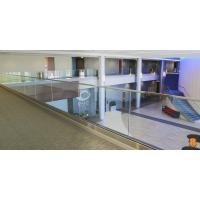 Wholesale U base channel glass railing with laminated glass aluminum channel for veranda from china suppliers