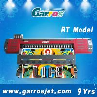 Wholesale Garros RT1801 One Way Vision Vinyl/Flex Banner Printing Machine DX5 Eco Solvent Printer from china suppliers