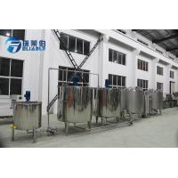 Wholesale Stainless Steel 304 Beverage Mixing System For Preparing Juice / Water Together from china suppliers