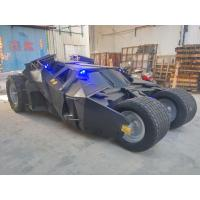 Quality event party deco batman's car model carmobile as decoration statue in shop/ mall for sale