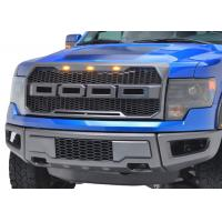 Wholesale Auto Accessories Upgrade Front Grille with light for 2009 2012 Ford Raptor F150 from china suppliers