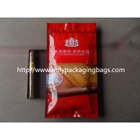 Wholesale Humidification System Resealable Ziplock Cigar Bags With Slider from china suppliers