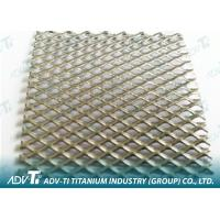 Wholesale 2.5 m Expanded Titanium Wire Mesh With Titanium Plate For Filter Elements from china suppliers