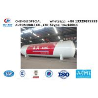 Buy cheap factory sale 120,000L 50ton lpg gas storage propane tank, hot sale bullet type bulk surface lpg gas storage tank from Wholesalers
