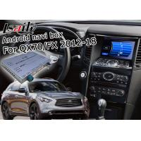 Wholesale Android Navigation Car Video Interface Support Waze / Youtube For Infiniti QX70 / FX from china suppliers