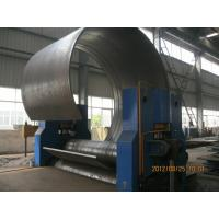 Wholesale CNC Hydraulic Sheet Metal Rolling Machine With High Precision 3 Roller Structure from china suppliers