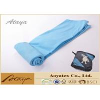 China 50 X 70CM 100% Polyester Fleece Microfiber dusting cloths Solid Color Quick Dry on sale