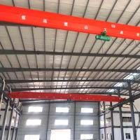 Buy cheap Workshop 20 Ton Mobile Overhead Single Girder Crane from wholesalers