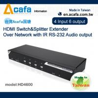 Wholesale HDMI 1080P 4 in 6 out Extender source signal Splitter or Switch from china suppliers