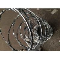 Buy cheap 100g Zinc Coating BTO-22 Razor Barbed Wire For Security Fence from wholesalers