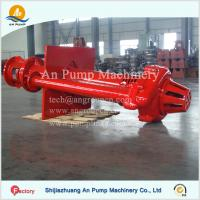 Wholesale Mining Pit Sump Submerged Vertical Slurry Pump from china suppliers