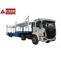 Wholesale Goose Neck Car Carrier Truck , ABS Automobile Transport Trailers 14200KG Payload from china suppliers