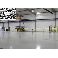 China Spray Epoxy Garage Floor Paint , Non Slip Floor Paint Plastic Coating on sale