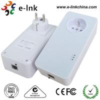 Wholesale 1200Mbps Passthrough Powerline Adapter with Power Socket Powerline Line Communication from china suppliers