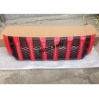 Wholesale Red Front Grill Mesh With LED Lights For Nissan NP300 4x4 Body Kits from china suppliers