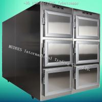 Wholesale MR-6 Stainless Steel Mortuary Refrigerator with Six Body Chamber from china suppliers