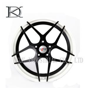 Polishing Replacement OEM Wheels Rims / OEM Replica Rims Chrome Forged